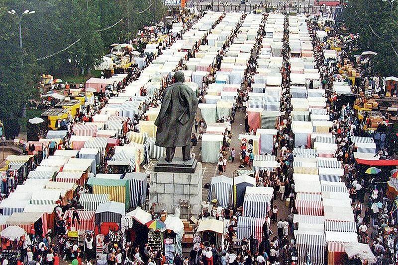 На фото: Криминальная Россия. 1995-й: