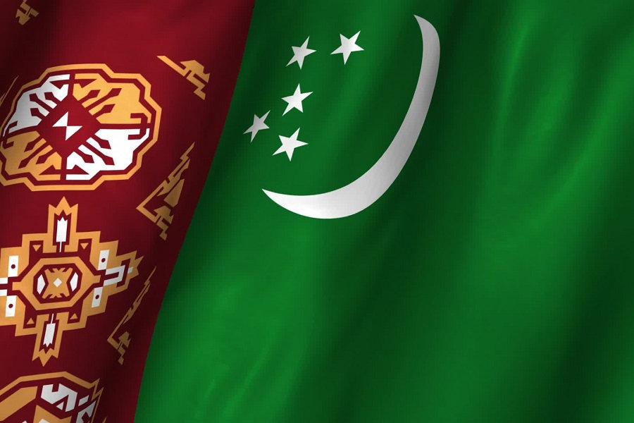 На фото: [образование в странах СНГ: Туркменистан] Туркменский национальный институт мировых языков им. Довлетмаммета Азади, автор: Basmach