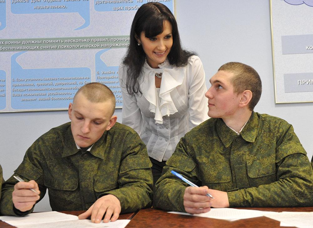 На фото: © Военный психолог: должность и личность.