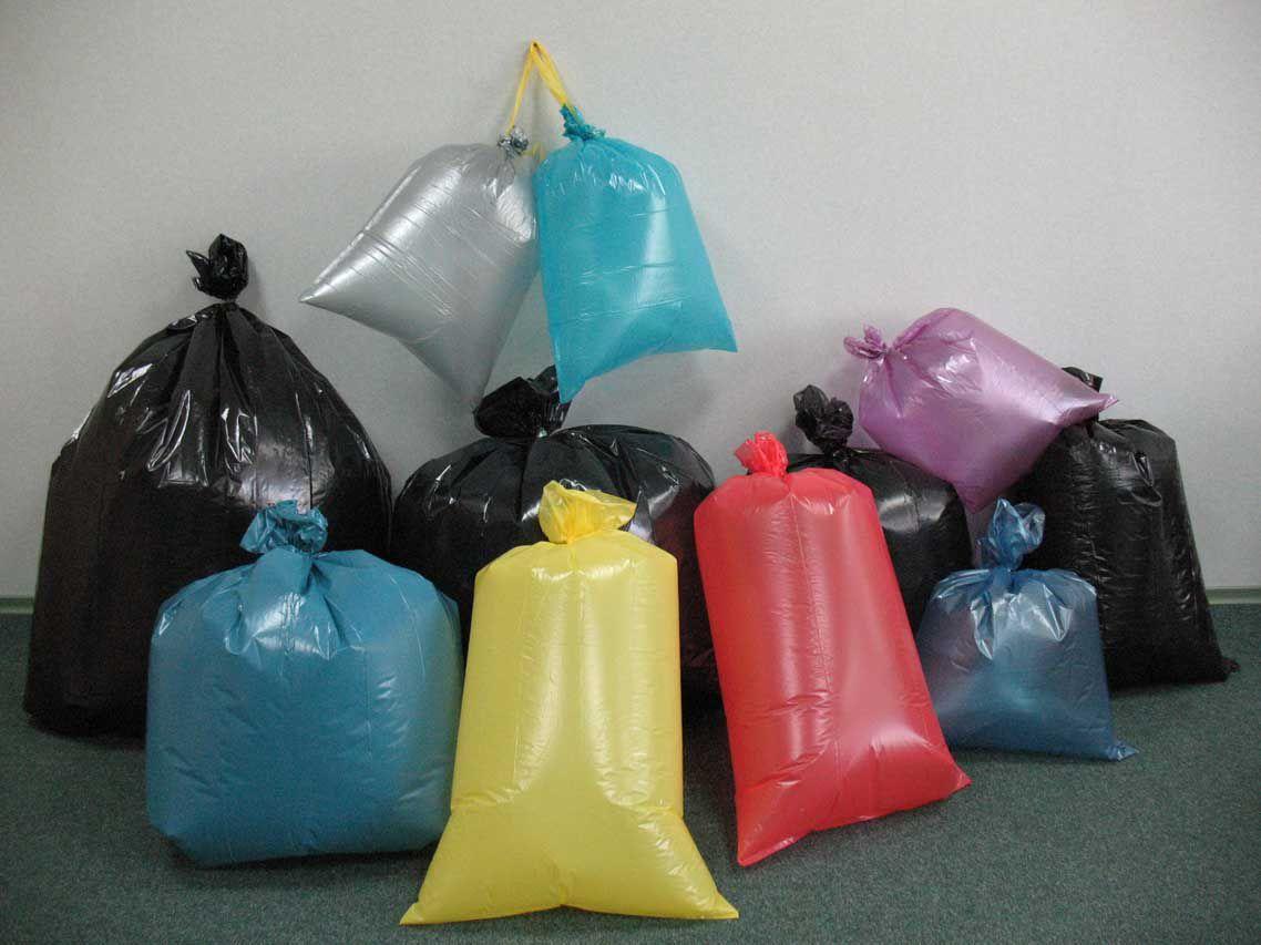 На фото: Мешки для мусора большого объёма, автор: admin