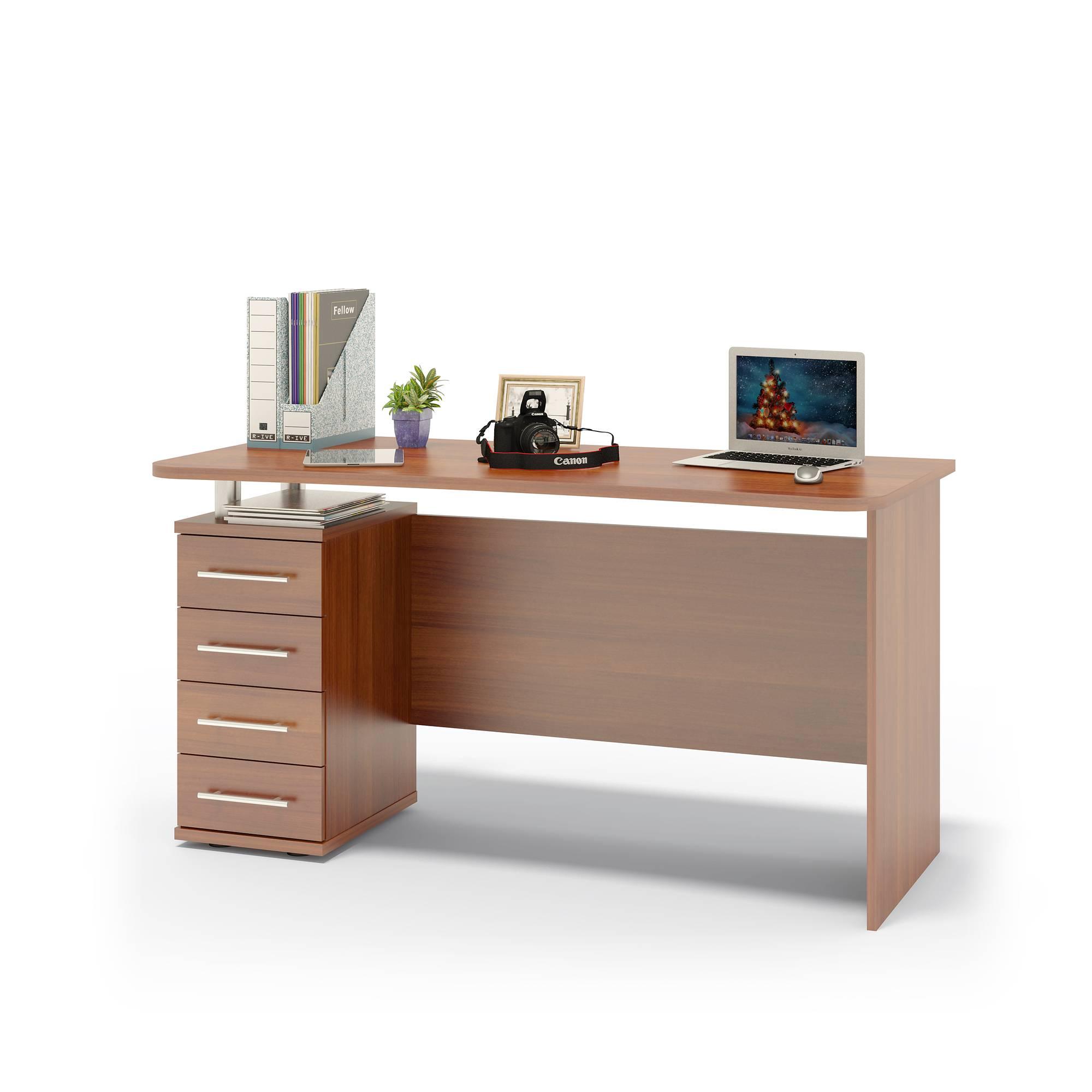 Компьютерный стол сокол кст-105.1 испанский орех, российская.