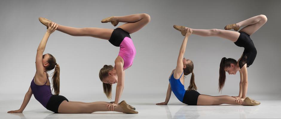 На фото: Физически укрепляющая акробатика для детей – прекрасный выбор заботливых родителей, автор: Poletaeva