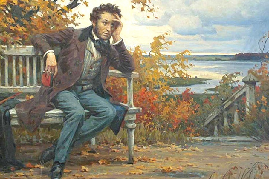 На фото: Если бы Пушкину Александру Сергеевичу предоставили словечко, он бы со мной согласился, автор: Poletaeva