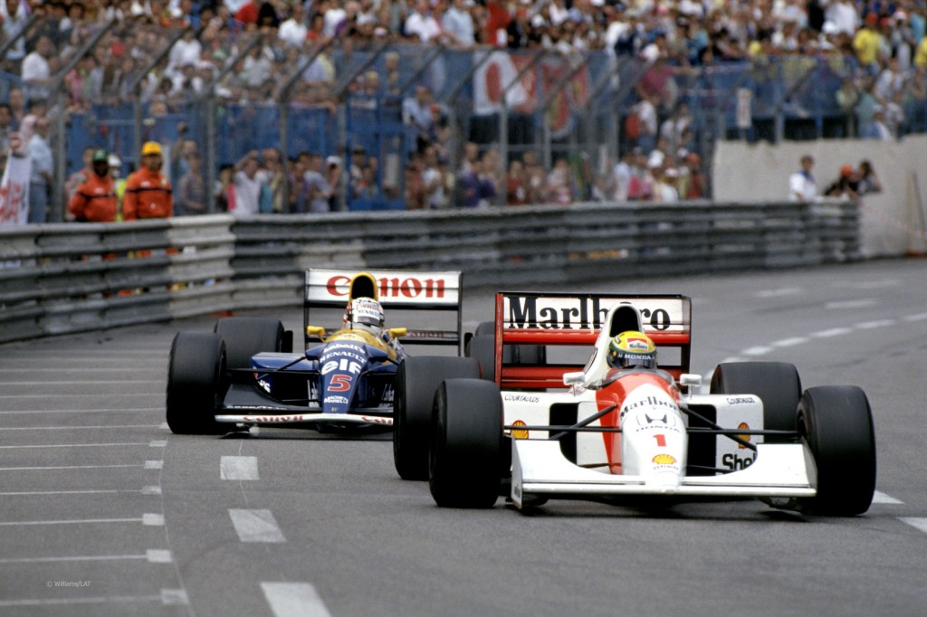 На фото: РЫЦАРИ ТРАСС. Формула-1 в 1992-м году (исторический репортаж), автор: Poletaeva