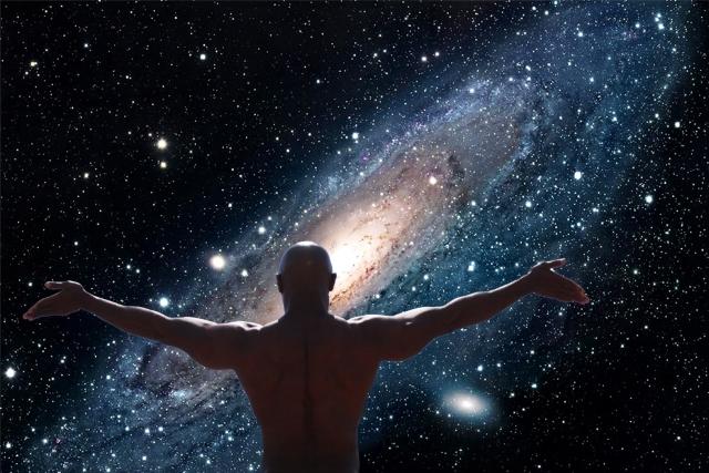 На фото:  Большой взрыв и большая Вселенная, автор: tverd4