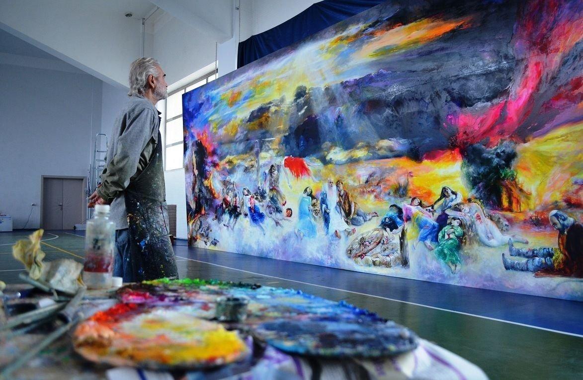 На фото: Картины Кулебякина не продаются (интервью с мэтром), автор: admin
