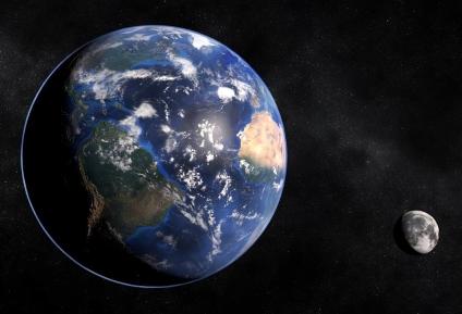 На фото: Неточность закона всемирного тяготения (Асимметрия гравитации), автор: tverd4