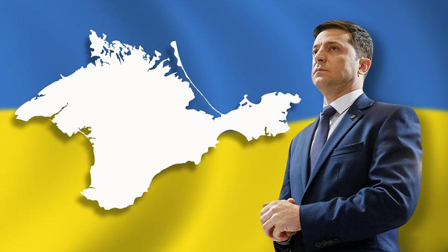 На фото: Вопрос Крыма не закрыт, автор: VTimoschuk