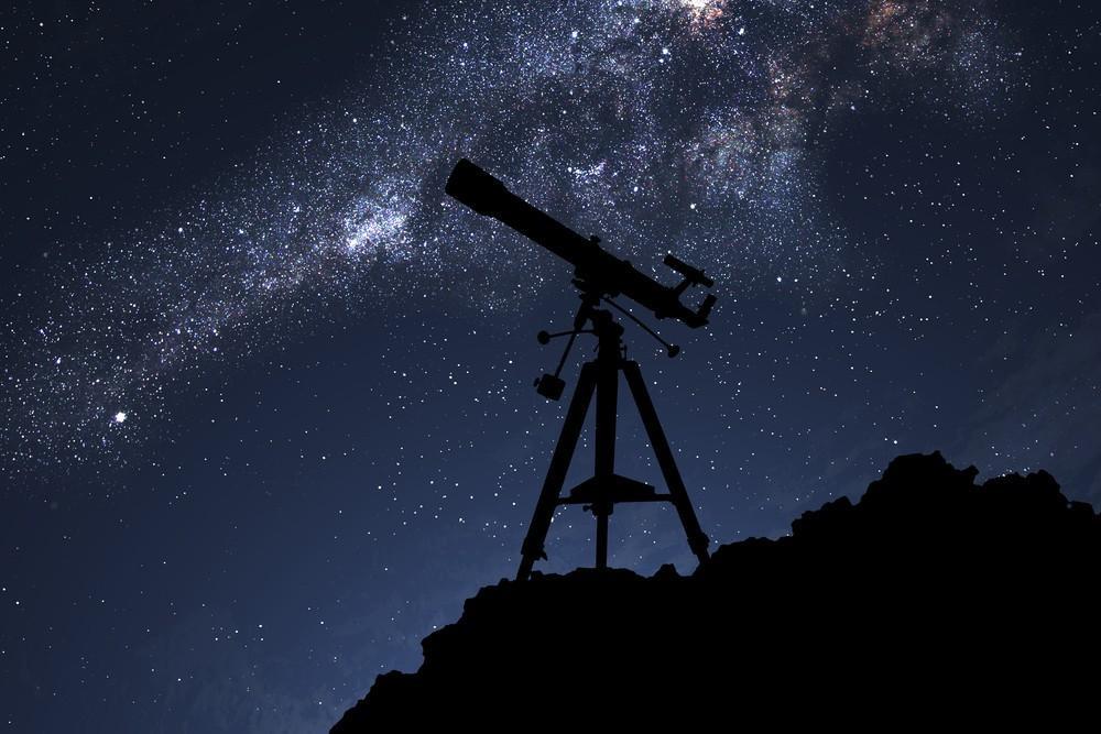 На фото: Первый телескоп, автор: admin