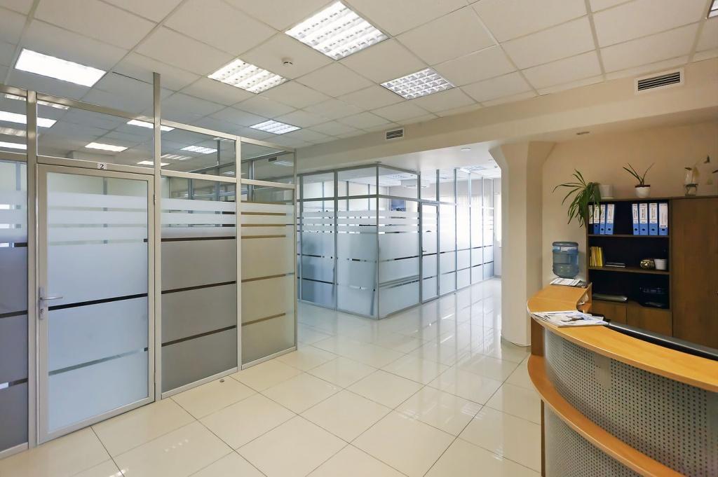 На фото: Организация офисного пространства. Перегородки - достоинства и недостатки, автор: admin