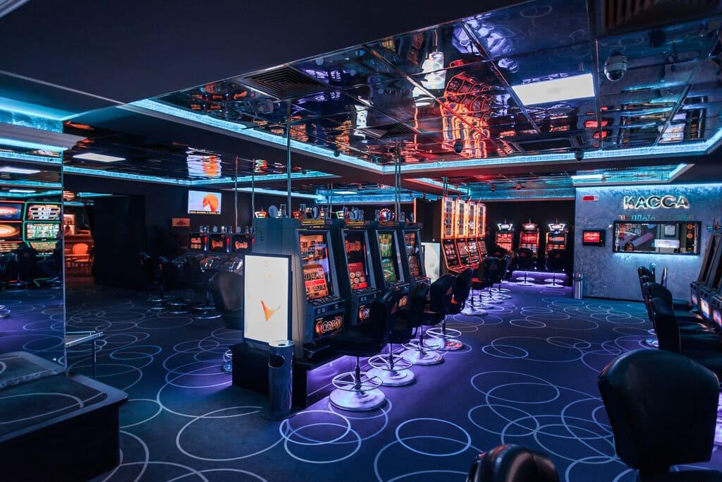 Интерьер казино «Максбет» в Минске
