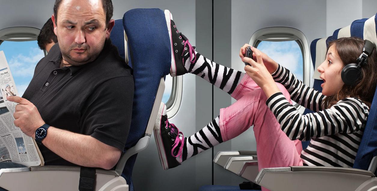 На фото: Где лучше сидеть в самолете, как выбрать место?, автор: admin